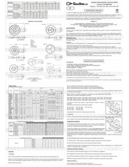 Bruleur Paella D70 Garcima G05-20700 GARCIMA® LaIdeal Bruleurs Gaz Paella Garcima