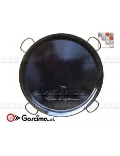 Paella pan D100 Emaille Garcima 20219 GARCIMA® LaIdeal Enamelled PataNegra Paella Pan