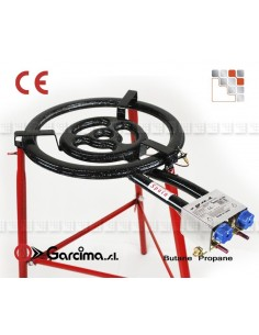 Burner Paella L40 Pro CTE Garcima G05-76340 GARCIMA® LaIdeal Gas Burners Paella Garcima