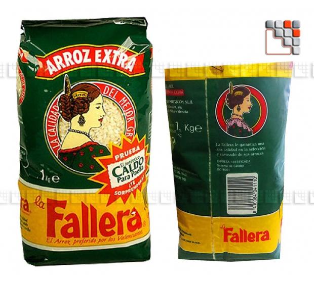 Riz La Fallera Special Paella 804ALAF01  Spécialités du Terroir
