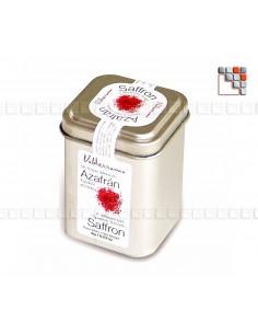 Safran de la Mancha Boite 2gr ZS1-F03 A la Plancha® Spécialités du Terroir