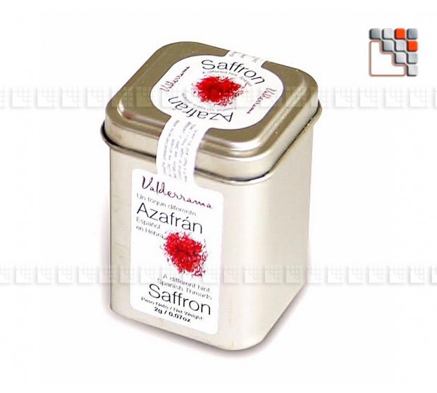 Safran azafrán Valderrama 2 gr.