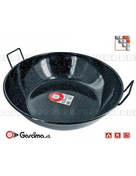 Garcima Emaille D50 Hollow Stove G05-20350 GARCIMA® LaIdeal Sartens, Cazuelas y Tapas Garcima