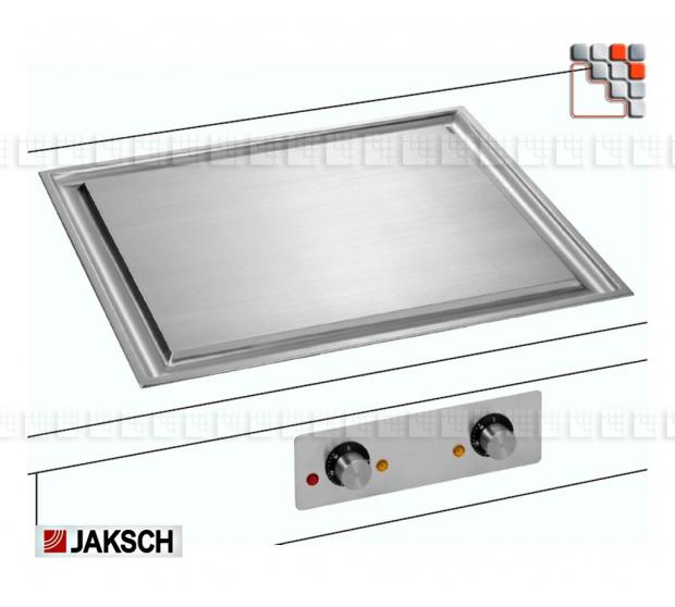TeppanYaki C3000 Classic Line Jaksch 108C9012 Jaksch® TeppanYaki Jaksch