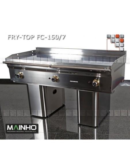 Fry-Top FC-150/7 UNICROM MAINHO M04-FC150/7 MAINHO® Fry-Top Teppanyaki 70 UNICROM UNISNACK