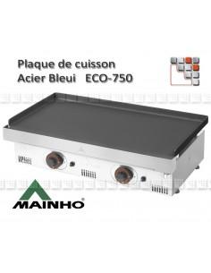 Plaque de Plancha serie ECO Acier Bleui