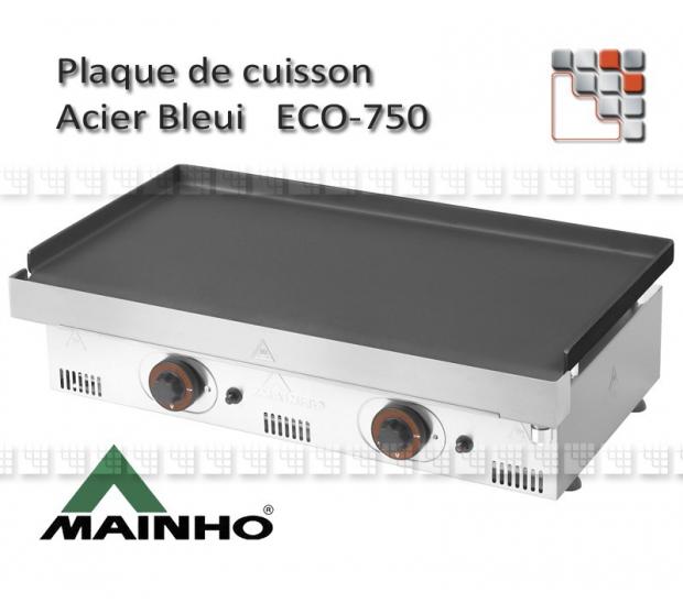 plaque acier bleui pour plancha serie eco 750. Black Bedroom Furniture Sets. Home Design Ideas