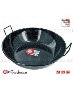 Deep Enamelled pan D60 Garcima G05-20360 GARCIMA® LaIdeal Sartens, Cazuelas y Tapas Garcima