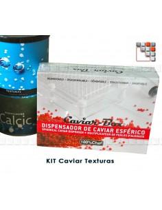 Kit Caviar Box avec 6 boites 803TX10824 100% CHEF Ustensiles de Cuisine
