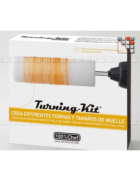 Turning Kit 100Chef 803TX300 TEXTURAS Albert y Ferran Adria SAVEURS
