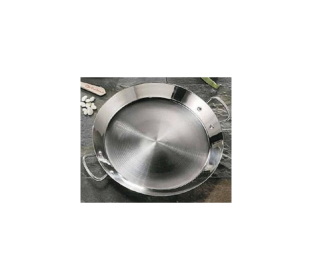 Guison Stainless Steel Paella Dish G05-740 GUISON Garcima Stainless steel Paella Pans Antiadhésive HQ Garcima
