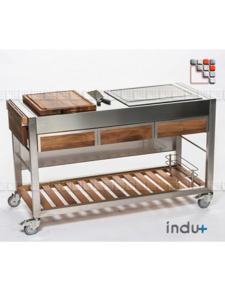 TomBoy Ultimo Unico Noyer 304ID130030004 INDU+® nv/sa Cuisine d'été INDU+