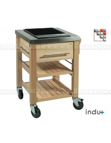 BeechBoy Solo Trolley I24-130010302 INDU+® nv/sa Cuisine d'été INDU+