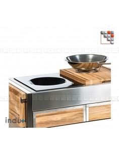 Wok 400 by Indu+ I24-132050000 INDU+® nv/sa Cuisine d'été INDU+