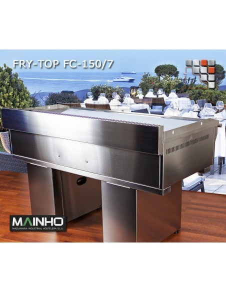 Fry-Top FC-180/7 UniCrom Mainho FC-180/7 MAINHO® Fry-Tops MAINHO EURO-CROM Snack