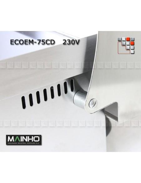 Plancha ECO EM-75PV UNI MAINHO M04-ECOEM75PVUNI MAINHO® Plancha ECO Mainho Chrome & Blued Steel