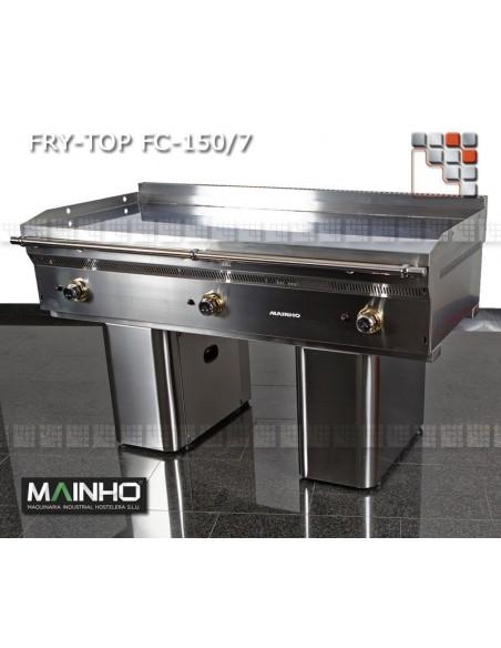 Fry-Top FCE-150/7 UNICROM MAINHO M04-FCE150/7 MAINHO® Fry-Top Teppanyaki 70 UNICROM UNISNACK