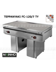 Teppanyaki FCE-120 7 TY 400V MAINHO M04-FCE120/7TY MAINHO® Fry-Tops MAINHO EURO-CROM Snack