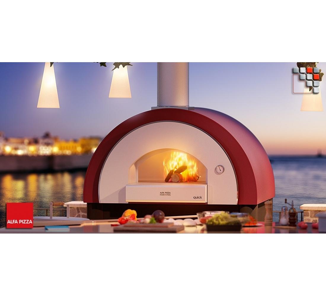 four pizza quick pro bois alfa pizza. Black Bedroom Furniture Sets. Home Design Ideas