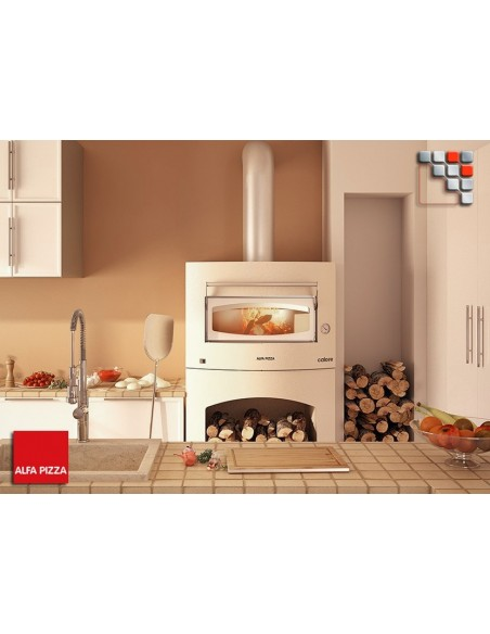 Oven Pizza CALORE Gas Alfa Pizza 402FORCAL-G ALFA PIZZA® Four Gastro Panini Pizza