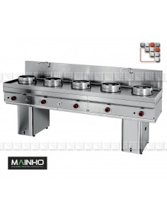 Wok W-500 Mainho M04-W500 MAINHO® Fryers Wok Steam-Oven
