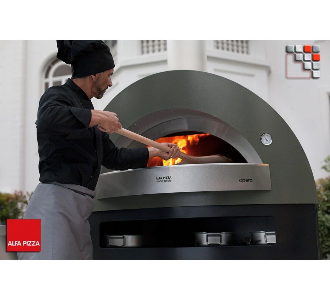 pizza oven opera to gas alfa pizza. Black Bedroom Furniture Sets. Home Design Ideas