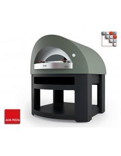 Four a Pizza OPERA Gaz 8 Alfa Forni A32-FOROPETP-LPG ALFA FORNI® Fours mobiles ALFA FORNI