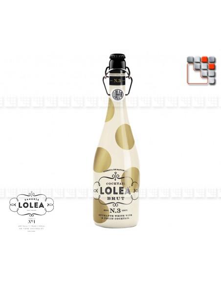 Cocktail Lolea Brut N°3 802LL3 COLMADO CASA LOLA S.L. Vins Cocktails et Boissons