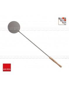 Round point shovel has Defourner Alfa Pizza 502AFISETP Alfa-Pizza Accessoires Ustensiles Spécial Pizza