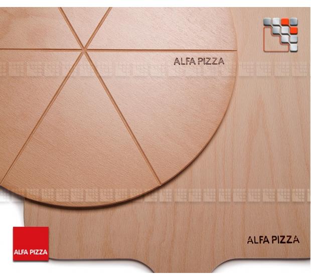 Tray has Cut out Pedestal with Alfa Pizza A32-PLDPIZ ALFA PIZZA Accessoires Spécial Pizza Ustensils