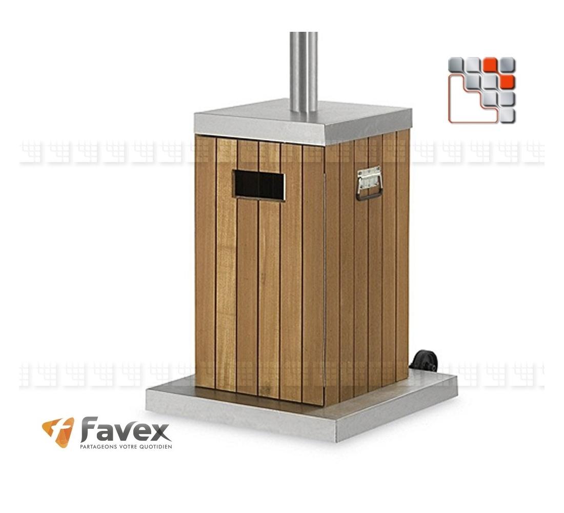 chauffage de terrasse cosy gaz favex deco bois classic. Black Bedroom Furniture Sets. Home Design Ideas