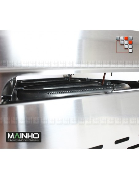 Plancha ECO -90PV UNI MAINHO M04-ECO90PVUNI MAINHO® Plancha ECO Mainho Chrome & Blued Steel