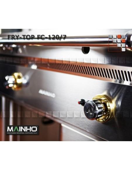 Fry-Top FC-120/7 UniCrom Mainho M04-FC120/7 MAINHO® Fry-Tops MAINHO EURO-CROM Snack