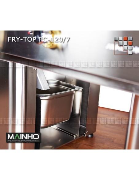 Fry-Top FCE-120/7 UNICROM MAINHO M04-FCE120/7 MAINHO® Fry-Top Teppanyaki 70 UNICROM UNISNACK