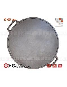 Plancha Ronde D65 Hierro G05-11065 GUISON Garcima Plancha Mobile à Poser