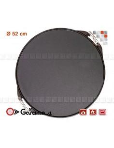 Plancha Ronde D52 Hierro Guison 103PL11055 Guison¨ Plancha Mobile à Poser