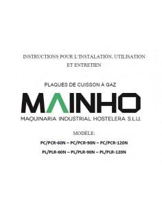 Instructions Installation Utilisation Entretien PC-PL