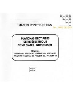 Manuel Instructions NOVO-SNACK NOVO-CROM
