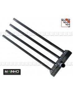 Rampe Gaz Chromée MAINHO 109MH124 MAINHO SAV - Accessoires Pièces détachées Mainho