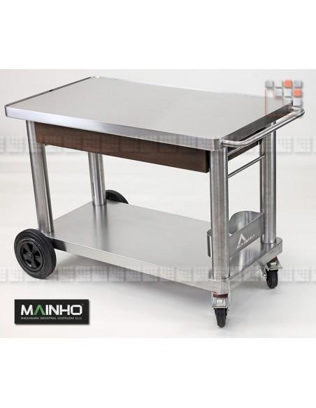 Chariot Plancha Inox+ Mainho M04-CH MAINHO SAV - Accessoires Planchas MAINHO NOVO CROM SNACK
