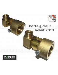 Embase Porte Gicleur + Venturi MAINHO M36-3007 MAINHO SAV - Accessoires Pièces détachées Gaz MAINHO