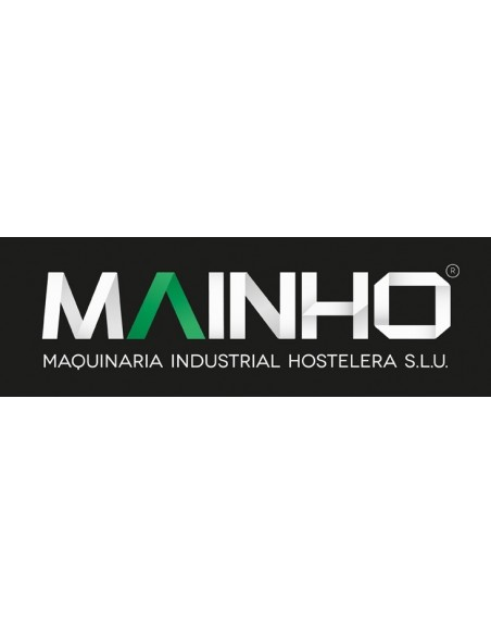 Plancha ECO-45PV UNI Mainho M04-ECO45PVUNI MAINHO® Plancha ECO Mainho Chrome & Blued Steel