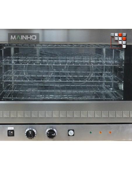 Four HRN-3HG Vapeur 400V MAINHO M04-HRN3HG MAINHO® Friteuse Wok Four Vapeur