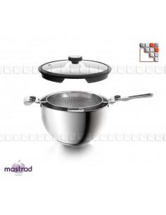 Casserole & Passoire Combo 24 cm - Balancia de MASTRAD M12-F61900 Mastrad® Cuisson