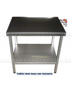 Table Mainho Tout Inox