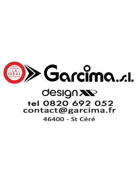 Plat Paella Geante D200 Garcima G05-10900 GARCIMA® LaIdeal Plat Paella Poli PataNegra Garcima