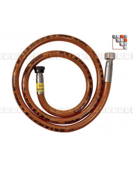 Flexible Stainless Steel Gas Butane Propane C06-H2602G Clesse industries¨ Gas accessories