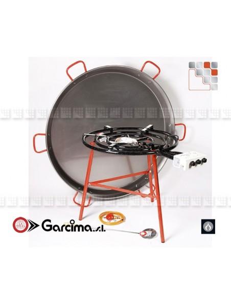 Plat Paella Geante D130 Garcima G05-10016 GARCIMA® LaIdeal Plat Paella Poli PataNegra Garcima