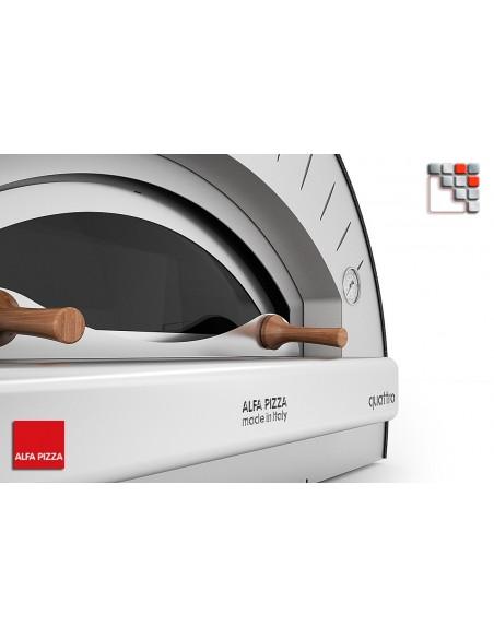 QUATTRO PRO Gas Alfa Forni oven A32-FOR4PROTP-LPG ALFA FORNI® Mobil Oven ALFA FORNI