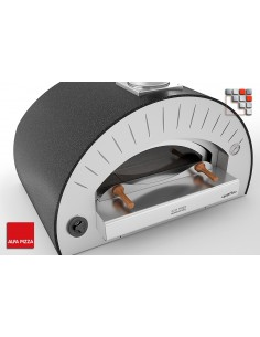 Oven QUATTRO PRO TOP Gas Alfa Forni A32-FOR4PROTP-LPG ALFA FORNI® Mobil Oven ALFA FORNI